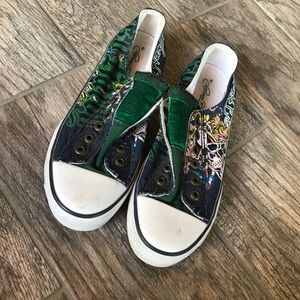 ED Hardy slip on shoes